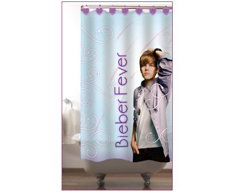 Bieber Fever Shower Curtain